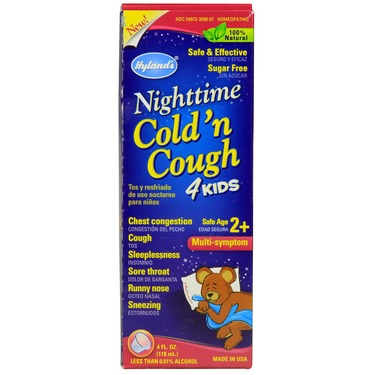 Hyland's Nighttime cold n' cough 4 kids