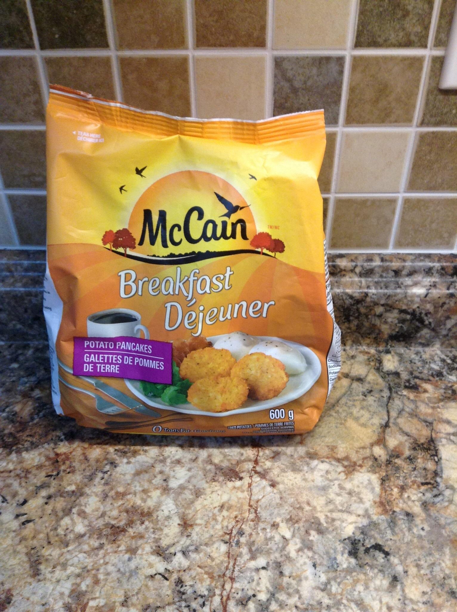 McCain Breakfast Potato Pancakes reviews in Frozen Potatoes