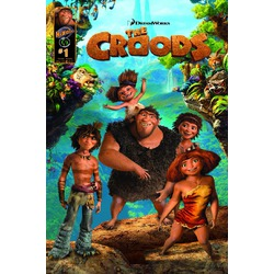 The Croods 3D Blu Ray