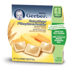 Nestlé Gerber Toddler Meals Pasta Pick Ups