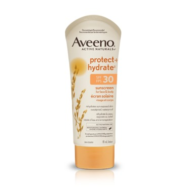 Aveeno Protect and Hydrate SPF 30 Sunscreen For Face and Body