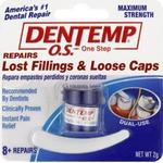 Dentemp O.S. Repairs Lost Filling & Loose Caps
