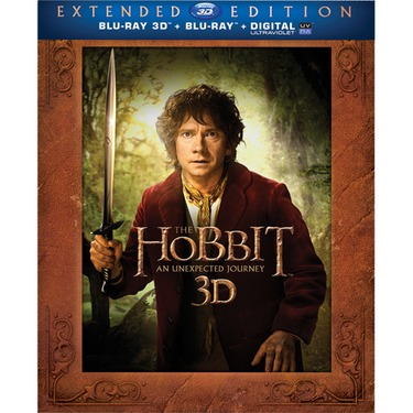 The Hobbit:  An Unexpected Journey (3D Blu Ray)