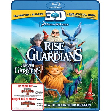 Rise of the Guardians (3D Blu-ray Combo)