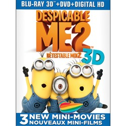 Despicable Me 2 (3D Blu-ray Combo)