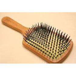 The Body Shop Paddle Bamboo Brush