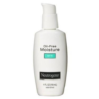 Neutrogena Oil-Free Moisture SPF15 Face Cream