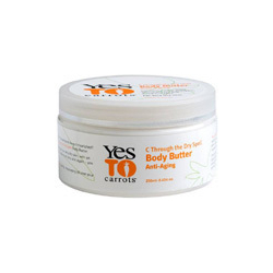 Yes to Carrots C Through The Dry Spell Delicious Rich Body Butter
