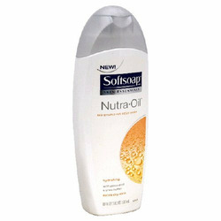 Softsoap Nutra Oil Body Wash for extra dry skin