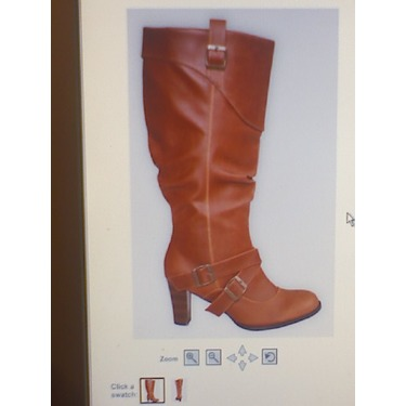 Brown Jessica Buckle Strap Boot