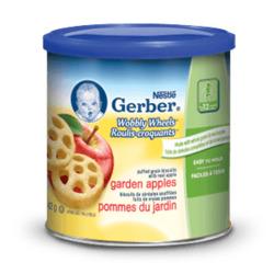 Nestlé Gerber Wobbly Wheels