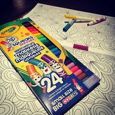 Crayola's Pip Squeaks Washable Markers