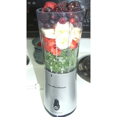 Hamilton Beach Single Serve Blender with Travel Lid