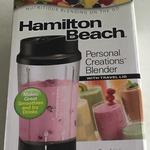 Hamilton Beach Single Serve Blender with Travel Lid