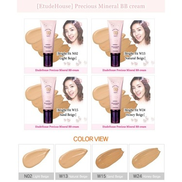 Etude Precious Mineral BB cream (Bright Fit)