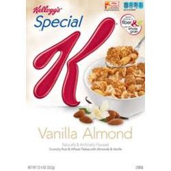 Kellog's Special K Vanilla Almond Cereal