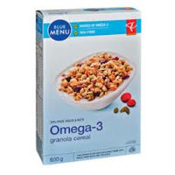 Blue Menu Omega 3 Granola