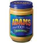 Adams 100% Natural Creamy Peanut Butter