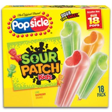 Sour Patch Popsicle