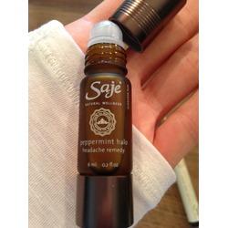 Saje Natural Wellness Peppermint Halo Headache Remedy