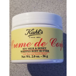 Kiehls Creme de Corps Soy Milk and Honey Whipped Body Butter