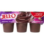 Jello Pudding Cups in Chocolate