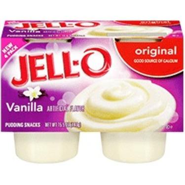 Jello Pudding Cups - Vanilla