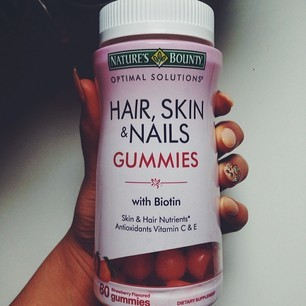 Nature S Bounty Hair Skin Amp Nails Gummies Reviews In