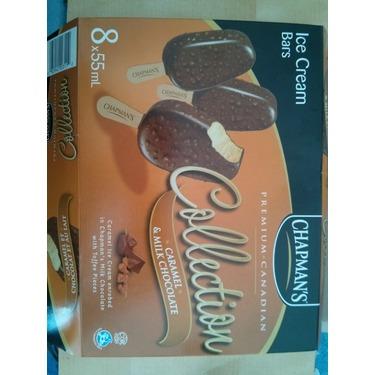 Chapman's Premium Collection Almond and Milk Chocolate Ice cream Bars