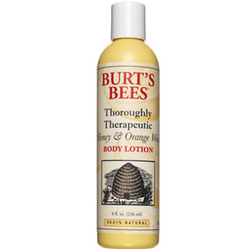 Burt's Bees Thoroughly Therapeutic Honey and Orange Wax body lotion