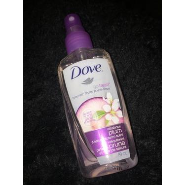 Dove Go Fresh Body Mist Rebalance Plum