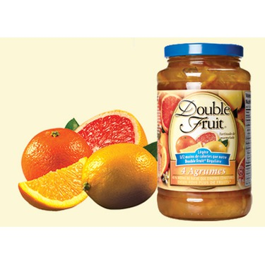 Double Fruit Marmelade 4 Agrumes Legere