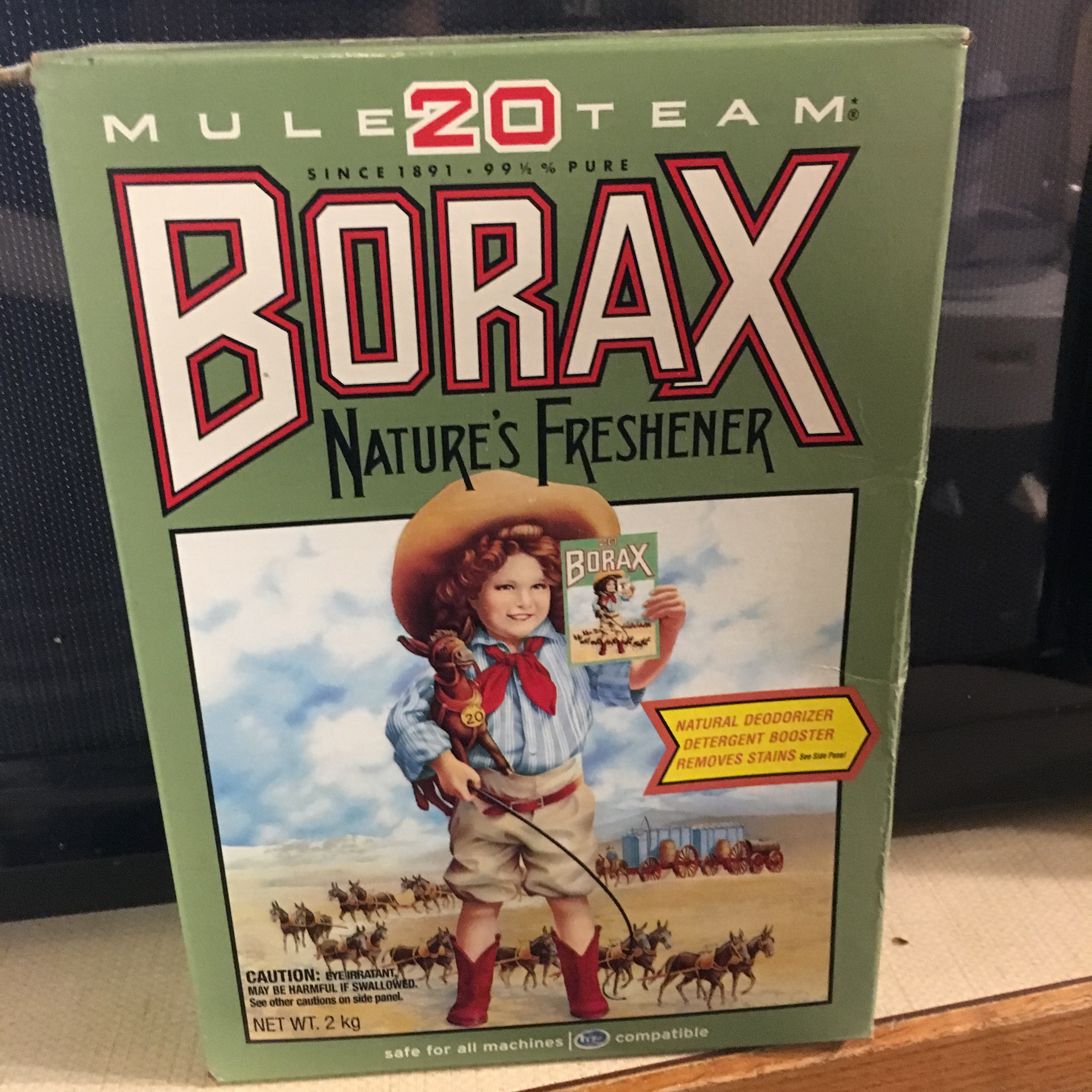 20 Mule Team Borax All Natural Laundry Booster Reviews In