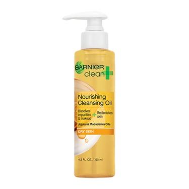 Garnier Clean  Nourishing Cleansing Oil