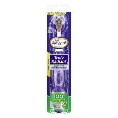 Arm & Hammer Spinbrush Truly Radiant Toothbrush