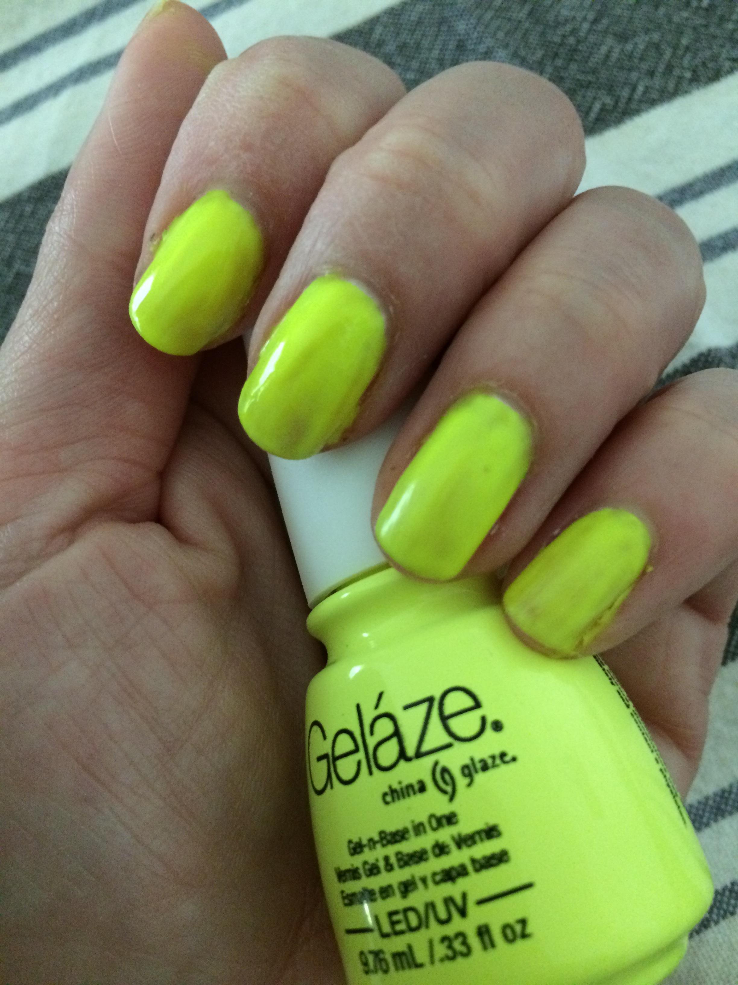 China Glaze Gelaze Gel Polish reviews in Nail Polish - ChickAdvisor
