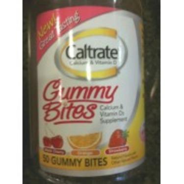 Caltrate Gummy Bites Calcium   Vitamin D