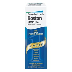 Bausch & Lomb Boston Simplus Contact Lens Disinfectant