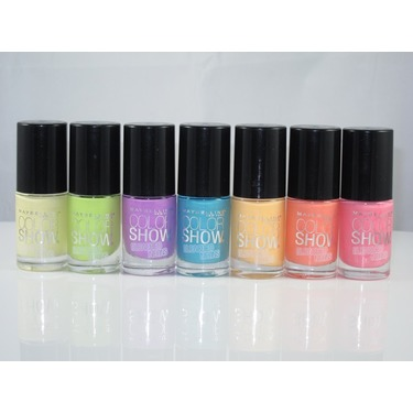 Maybelline New York Color Show Bleached Neons