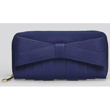 Zac Posen Wallet Shirley Saffiano Leather