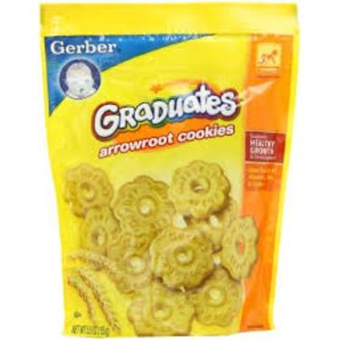 Gerber Arrowroot Cookies