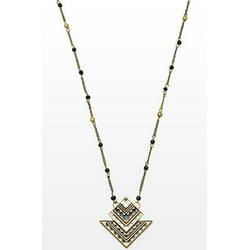 Garage Tribal Pendant Necklace