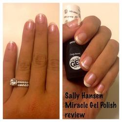 Sally Hansen Miracle Gel Polish & Miracle Gel Top Coat