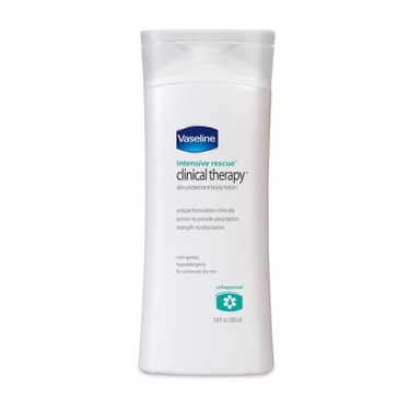 Vaseline Intensive Rescue Clinical Therapy Body Lotion