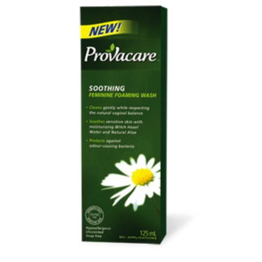 Provacare's Soothing Feminine Foaming Wash