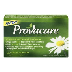 Provacare's Probiotic Vaginal Care