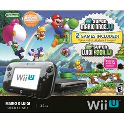 Mario & Luigi Wii U Deluxe 32GB Console (Bundle)
