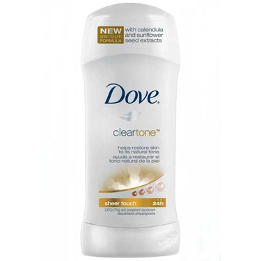 Dove® Advanced Care Clear Tone Sheer Touch Antiperspirant