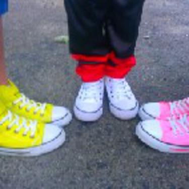 H & M Kids High Top Sneakers
