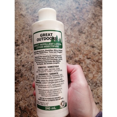 watkins great outdoors insect repellent